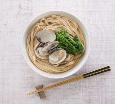 Soy Udon with Clam