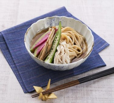 Soy Udon Cold for Summer